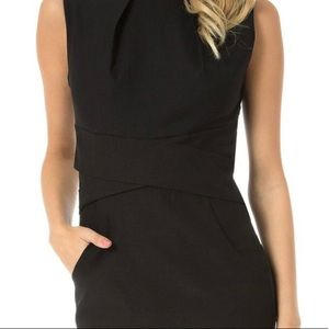 Teeze Me Black Dress with Pockets Size 3